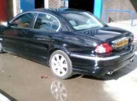 Jaguar X-TYPE, 2004 (54) Black Saloon, Automatic Petrol, 105,000 miles