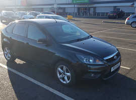 Ford Focus, 2010 (10) Black Hatchback, Manual Petrol, 97,000 miles