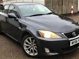 Lexus Is,250  2006 (56) Grey Saloon, Automatic Petrol, 132,850 miles