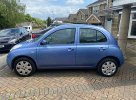 Nissan Micra, 2005 (05) Blue Hatchback, Automatic Petrol, 48,564 miles