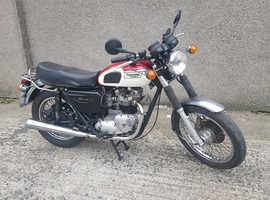 Triumph T140E Bonnie