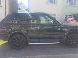Land Rover Range Rover Sport, 2005 (05) Black Estate, Automatic Petrol, 11,600 miles