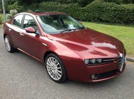 ALFA ROMEO 159 JTS 2.2 6 SPEED 2007 ONE OWNER SERVICE HISTORY STUNNING CLEAN CAR LOWEST PRICE IN UK