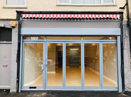 Refurbished Shop to let with A3 Luton