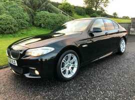 BMW 5 Series, 2011  Black Saloon, Automatic Diesel