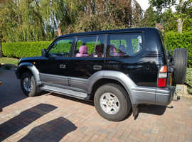 Toyota LAND CRUISER COLORADO, 1997 (P) Black Estate, Manual Diesel, 60,499 miles