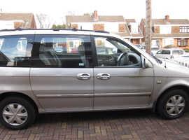 Kia Sedona, 2005 (05) Silver MPV, Manual Diesel, 96,518 miles