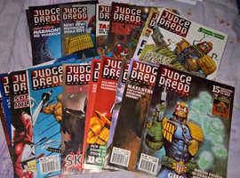Judge Dredd Comics - Job Lots