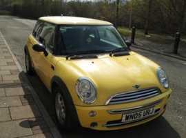 Mini MINI, 2005 (05) Yellow Hatchback, Manual Petrol, 84,191 miles