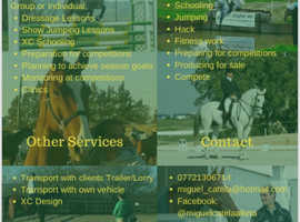 Teaching, Riding other Services
