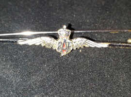 Royal Air Force vintage tie pin/sweetheart brooch