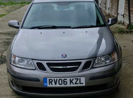 Saab 9-3, 2006 (06) Grey Saloon, Manual Diesel, 130,200 miles