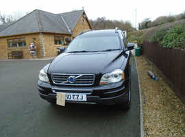 Volvo Xc90, 2010 (10) Black Estate, Manual Diesel, 100,968 miles