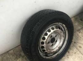 "Goodyear Wheel 16.5"" Rim With 215/65 R16C"