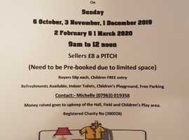 Elstow Playing Fields Table Top Sale (HELD 1ST SUNDAY OF MONTH)