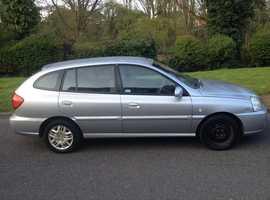 Kia Rio, 2004 (04) Silver Hatchback, Manual Petrol, 87,000 miles