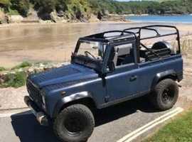 Land Rover LR 90 4C REG, 1987 (E) Blue 4x4, Manual Diesel, 92,000 miles