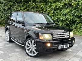 Land Rover Range Rover Sport, 2005 (05) Black Estate, Automatic Diesel, 134,000 miles