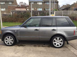 Land Rover RANGEROVER VOGUE TDI, 2008 (57) grey estate, Automatic Diesel, 81400 miles