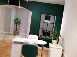 Nail Table and Hairdresser Chairs for rent