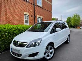 "2014 14 REG Vauxhall Zafira 1.7 TD ecoFLEX 16v Exclusiv 5dr "" 7 SEATER "" HPI CLEAR """