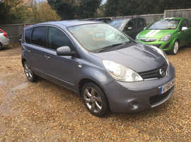 Nissan Note, 2010 (60) Grey MPV, Manual Diesel, 116,000 miles