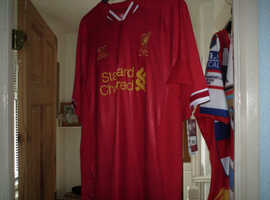 LIVERPOOL FC  JERSEY NEW WITH TAGS
