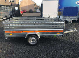 BRAND NEW CAR TRAILER 8,7FT x 4,1FT WITH MESH