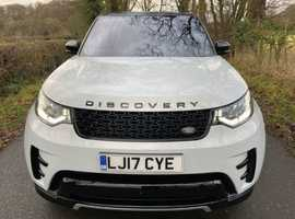 LHD Land Rover Discovery, 2017 (17) White Estate, Automatic Diesel, 10,112 miles