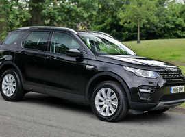 2016 Land Rover Discovery Sport SE Tech 2.0 TD4 150PS, FSH, new MoT, clear history, reversing camera