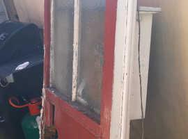 FREE 2x old wooden doors
