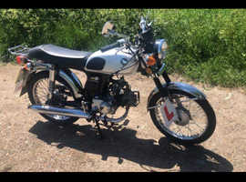 NANFANG 50cc motorbike,ideal for first bike and looks amazing for a replica Honda ss50