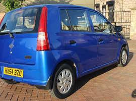 Daihatsu Charade, 2005 (54) Blue Hatchback, Manual Petrol, 106,000 miles