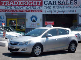 Vauxhall Astra, 2010 (10) Silver Hatchback, Manual Petrol, 84,996 miles