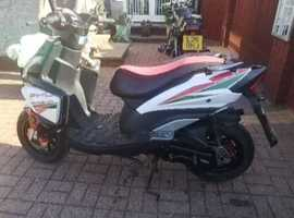 Pheonix 50cc scooter 2016 registered