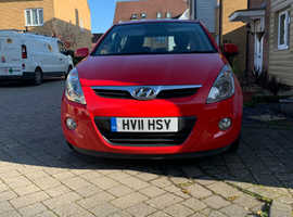 Hyundai i20, 2011 (11) Red Hatchback, Manual Petrol, 81,500 miles