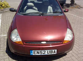 Ford Ka, 2002 (02) Purple hatchback, Manual Petrol, 00,266 miles