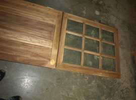 "Exterior Hardwood Stable Door – 2' 9"" Wide"