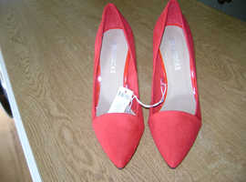 New Ladies Red High Heels - Nr Newton Abbot