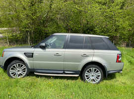 Land Rover Range Rover Sport, 2011 (61) Gold Estate, Automatic Diesel, 89,000 miles