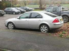 Ford Mondeo, 2004 (04) Silver Hatchback, Manual Diesel, 103,000 miles