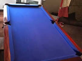 SLATE BED POOL / DINER TABLE / TABLE TENNIS