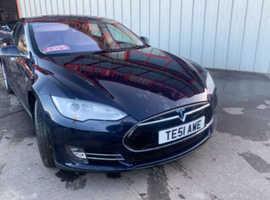 Tesla Model S, 2014 (14) Blue **VERY RARE 7 Seater***
