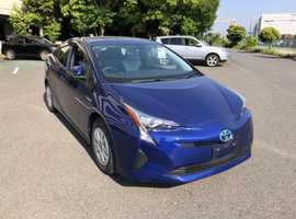 Toyota Prius, 2016 (66) Blue Hatchback, Automatic Hybrid, 40,734 miles