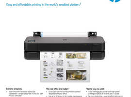 BRAND NEW HP DesignJet T230 A1 Printer (5HB07A)  - NEVER USED - full 1 Year HP Warranty