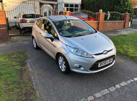 Ford Fiesta, 2008 (58) Silver Hatchback, Manual Petrol, 98,000 miles