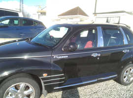Chrysler Pt Cruiser, 2005 (05) Black Hatchback, Automatic Petrol, 93,071 miles