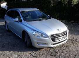 Peugeot 508, 2012 (61) Silver Estate, Semi auto Diesel, 119,000 miles