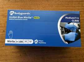 Strong Blue Disposable Gloves XL