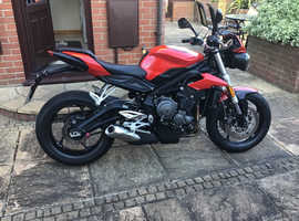 TRIUMPH STREET TRIPLE S - EXCELLENT CONDITION